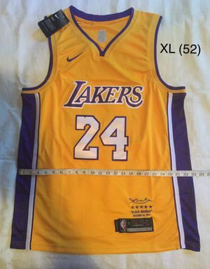 Brand new Los Angeles Lakers Jersey Kobe Bryant Size XL(52) for Sale in Los Angeles, CA