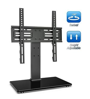Universal Swivel TV Stand for 27-55 inch TVs Height Adjustable for Sale in Dallas, TX