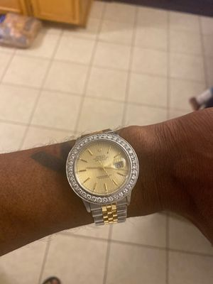 Rolex 36 stainless and 18kt date just jubalee band for Sale in Stockbridge, GA