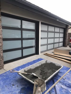 I have a used garage door for sale for Sale in Fullerton, CA