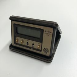 Vintage Bulova Quartz Digital Travel Alarm Clock for Sale in Collinsville,  IL