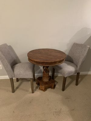 Wooden table and chairs for Sale in Novato, CA