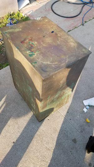 Vintage rolling copper bin for Sale in San Bernardino, CA
