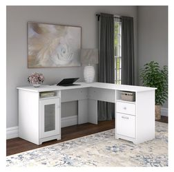 Bush Furniture Cabot 60W L Shaped Computer Desk for Sale in Indianapolis,  IN