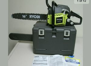 """Ryobi 16"""" Chainsaw with Hard Case 38cc for Sale in St. Petersburg, FL"""