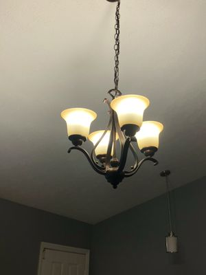 Living Room Chandelier- Like New for Sale in Indianapolis, IN