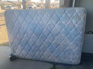 Full size bed frame w/mattress for Sale in Glendale, AZ