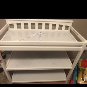 White Changing Table for Sale in Simpsonville, SC