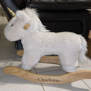 Pottery Barn ride on Unicorn for Sale in West Palm Beach, FL