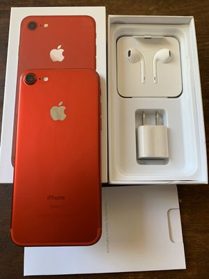 iPhone 7 product red 128gb unlocked (desbloqueado para todas las compañías) for Sale in Rosemead, CA