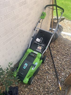 Electric lawn mower for Sale in Denver, CO