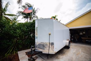 2016 14x6 enclosed Cargo trailer camper conversion tiny home for Sale in Ocean Ridge, FL