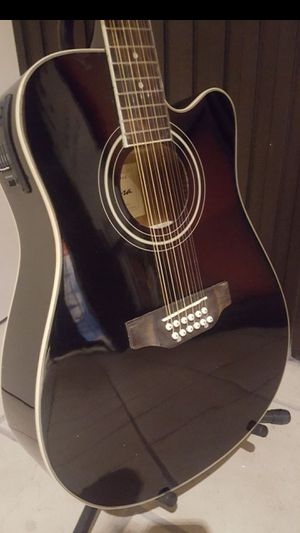 GUITAR 12 STRING ACOUSTIC ELECTRIC for Sale in Long Beach, CA