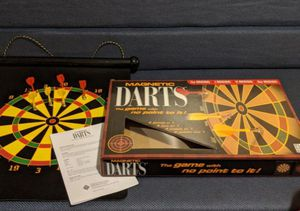 Magnetic board and darts for Sale in Dublin, OH