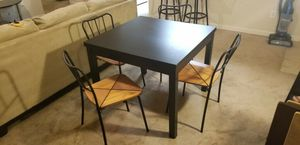Extendable Dining Table & Chairs for Sale in Nashville, TN
