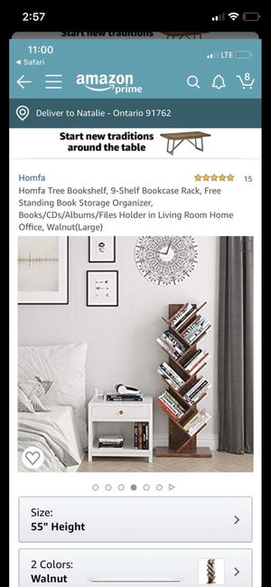9 shelf bookcase for Sale in Ontario, CA