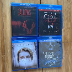 Horror Film Blu Ray Lot for Sale in Fort Lauderdale, FL