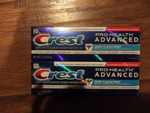 Crest toothpaste for Sale in Victorville, CA