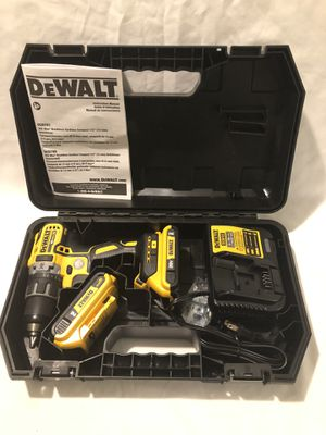 Brand new never used Dewalt XR 20V brushless drill driver tool set. for Sale in Vacaville, CA