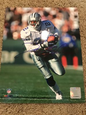 Deion Sanders Autograph for Sale in Ashburn, VA