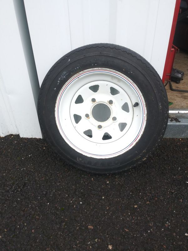 Like new Trailer Tire. 4.8 12