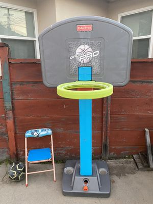 Grow to pro basketball hoop for Sale in Whittier, CA