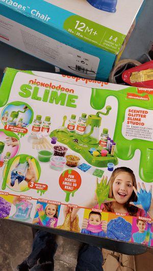 Nickelodeon slime scented glitter slime Studio for Sale in Riverside, CA