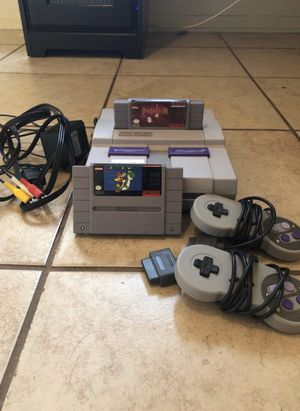 Super Nintendo (final fantasy sold) for Sale in Fort Worth, TX