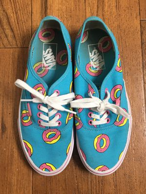 Odd Future x Vans Authentic Donut Size 6.5 Shoes Ofwgkta Jordan Nike Adidas Bape Supreme Palace Vlone for Sale in Murrieta, CA