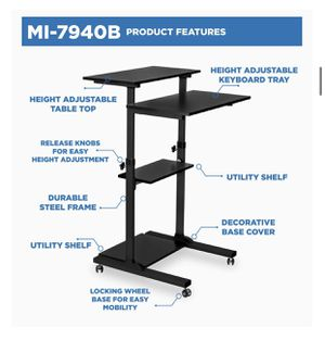 Height Adjustable Computer Table for Sale in Los Angeles, CA
