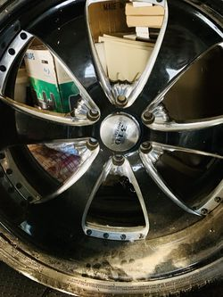 6 lug 24's 3 piece rims 310 motoring for Sale in Hollywood,  FL