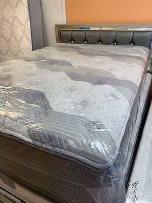 📣🎉❗️ SÚPER SALE TWIN SIZE $99 FULL SIZE $179 QUEEN SIZE STARTING $249 KING SIZE STARTING $440 ALL BRAND NEW ONLY IN DM MATTRESS FURNITURE 303 POCASSE for Sale in Providence, RI