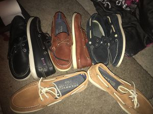Sperry boat shoes men size 10m for Sale in Wellesley, MA