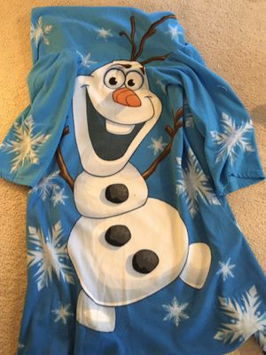 Frozen Olaf Snuggie for Sale in Colorado Springs, CO