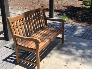 Wood Bench - Cost Plus World Market for Sale in Diamond Bar, CA