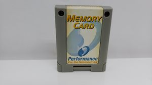 NINTENDO 64 MEMORY CARD for Sale in St. Louis, MO
