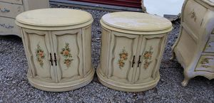 Vintage French Provincial Night Stand Cabinets for Sale in Vermilion, OH