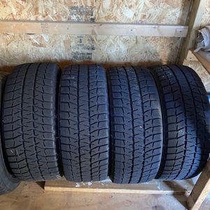Bridgstone Blizzak WS80 Snow Tires With Rims for Sale in North Providence, RI