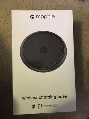 Brand new Mophie wireless charging base for Sale in Pasadena, CA