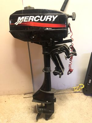 3 hp Mercury outboard motor for Sale in Alexandria, VA