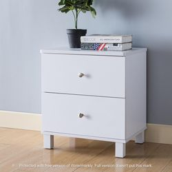 NEW IN THE BOX, CLEARANCE, WHITE NIGHTSTAND, SKU#TCY5003. for Sale in Westminster,  CA
