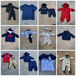 Infant Clothing Package - Tommy Hilfigure, Adidas, Baby Gap, and Jordan. for Sale in El Cerrito, CA