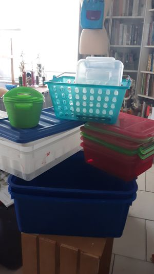 Plastic Storage Containers - Check out my other Listings for Sale in Fort Lauderdale, FL