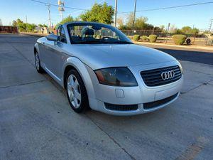 2002 Audi TT, MANUAL TRANSMISSION, CLEAN CARFAX for Sale in Phoenix, AZ