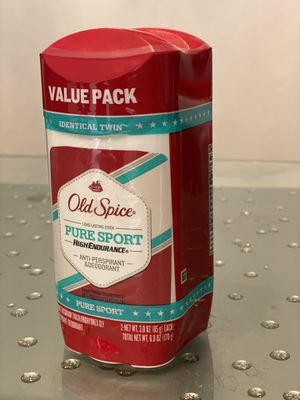 Old Spice Pure Sport Solid Deodorant, 2.25oz (Pack of 2) for Sale in Vancouver, WA