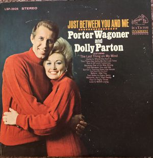 "Porter Wagoner & Dolly Parton ""Just Between You and Me"" Vinyl Album $13.05 for Sale in Ringgold, GA"
