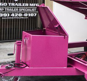Dump trailer storage box for Sale in Garden Grove, CA