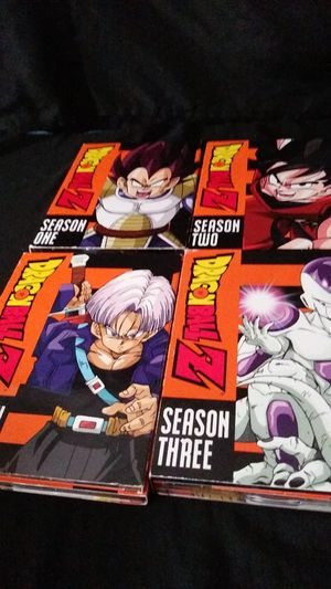 Dragon ball z s1,s2,s3,4 complete seasons for Sale in San Jose, CA