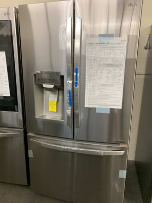 LG Fridge 26.2 cu. ft. French Door Smart Refrigerator with Wi-Fi Enabled Same day or next day delivery available for Sale in Whittier, CA