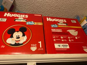 Diapers/ pañales Huggies for Sale in Pasadena, CA